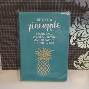 """3/$13 *NEW* Journal- """"Be like a pineapple, stand.."""